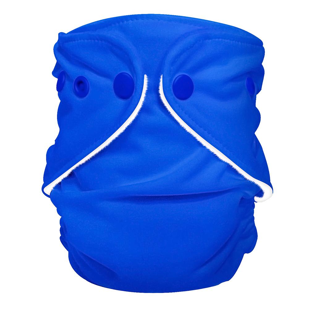 fuzzibunz first year adjustable diaper - REGATTA BLUE