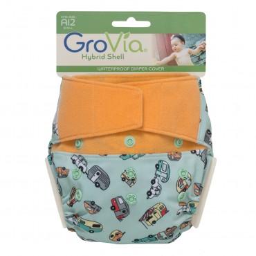 GroVia One Size Cloth Diaper Shell Set - Adventure
