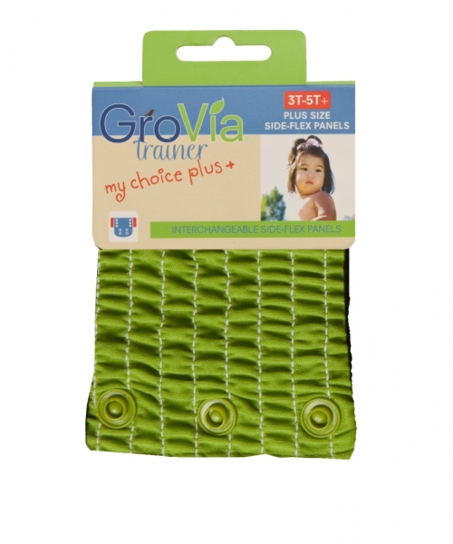 grovia my choice side flex panel for trainers - kiwi