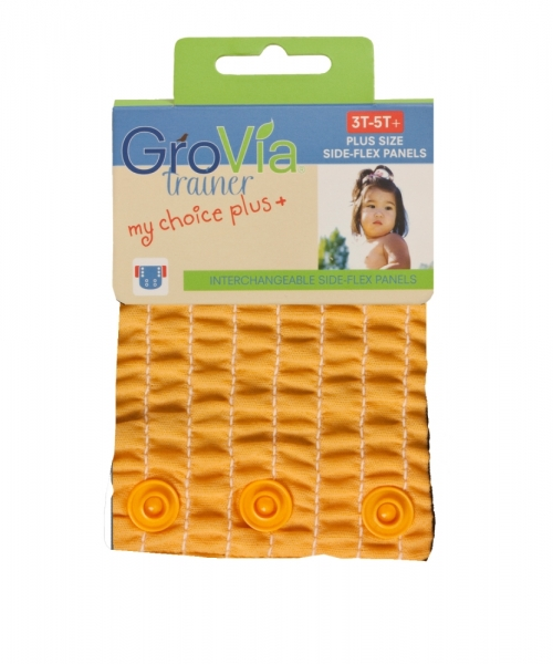 grovia my choice side flex panel for trainers - mandarin
