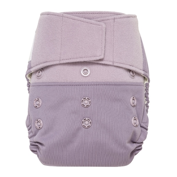 GroVia One Size Cloth Diaper Shell Set - Haze