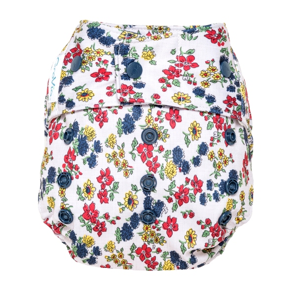 GroVia cloth diaper cover - snap - Calico