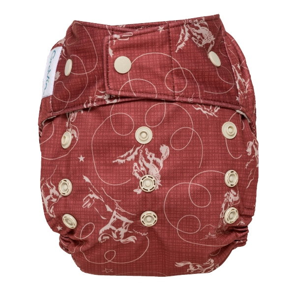 GroVia cloth diaper cover - snap - tex