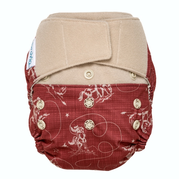 GroVia cloth diaper cover - tex