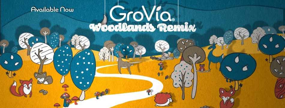 grovia cloth diapers woodlands remix