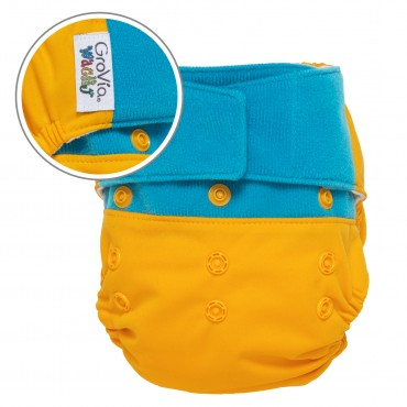 GroVia Wracky Cloth Diaper Shell Set - Crazy