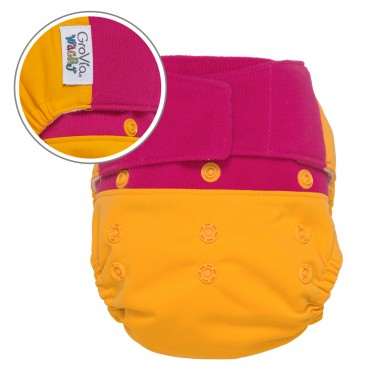 GroVia Wracky Cloth Diaper Shell Set -  Nutty