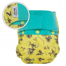 GroVia Wracky Cloth Diaper Shell Set - Zany