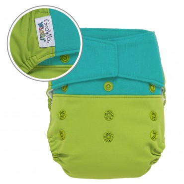 GroVia Wracky Cloth Diaper Shell Set - fruity