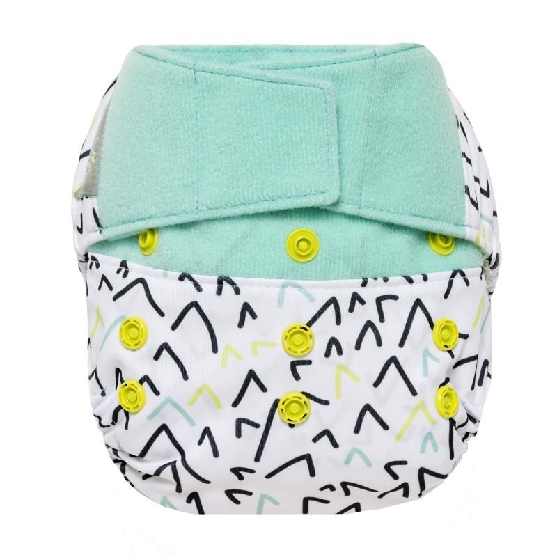 GroVia One Size Cloth Diaper Shell Set - ballot