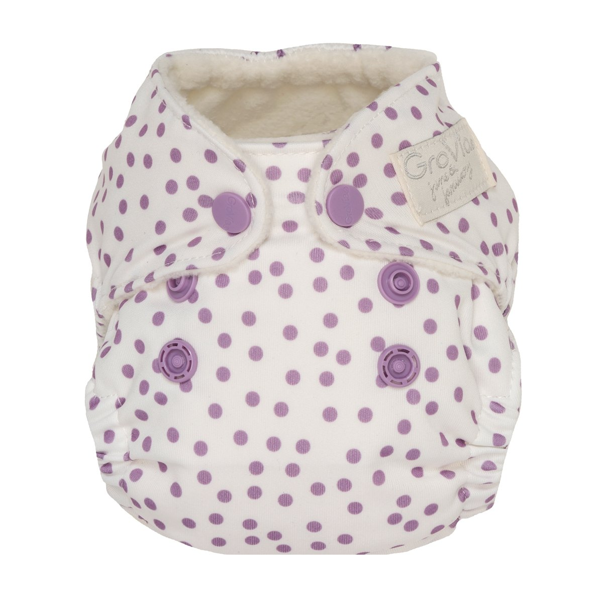 grovia newborn all in one -  Violet Dot