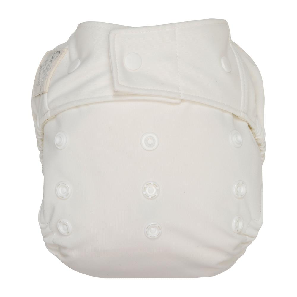 GroVia One Size Cloth Diaper Shell Set - snow