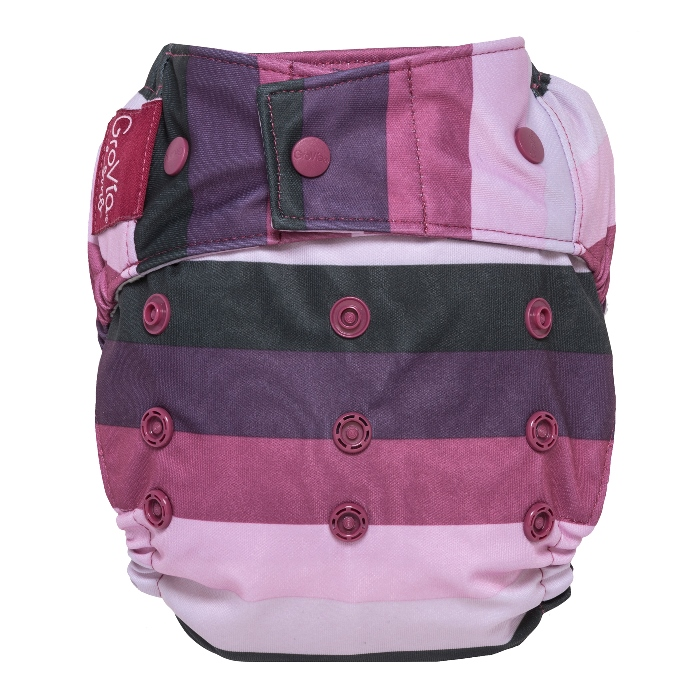 GroVia One Size Cloth Diaper Shell snap -  Sugar Rush