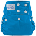 happy heinys one for all one size cloth diaper - aqua
