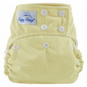 happy heinys one for all one size cloth diaper - butter