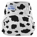 happy heinys one for all one size cloth diaper - cow prints