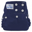 happy heinys one for all one size cloth diaper - navy