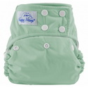 happy heinys one for all one size cloth diaper - sage