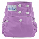 happy heinys one for all one size cloth diaper - violet