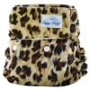happy heinys mini one size cloth diaper - animal print