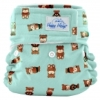 happy heinys mini one size cloth diaper - bears
