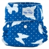 happy heinys mini one size cloth diaper - butterfly