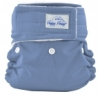 happy heinys mini one size cloth diaper - dark periwinkle