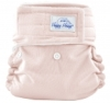happy heinys mini one size cloth diaper - light pink