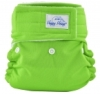 happy heinys mini one size cloth diaper - lime green