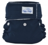 happy heinys mini one size cloth diaper - navy
