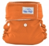 happy heinys mini one size cloth diaper - orange