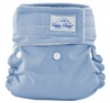 happy heinys mini one size cloth diaper - periwinkle