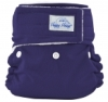 happy heinys mini one size cloth diaper - purple