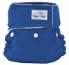 happy heinys mini one size cloth diaper - royal blue