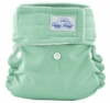 happy heinys mini one size cloth diaper - sage