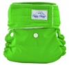 happy heinys mini one size cloth diaper - spring green