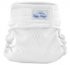 happy heinys mini one size cloth diaper - white