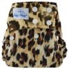happy heinys one size cloth diaper - animal print