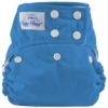 happy heinys one size cloth diaper - aqua