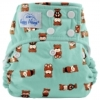 happy heinys one size cloth diaper - bears