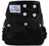happy heinys one size cloth diaper - black