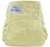 happy heinys one size cloth diaper - butter