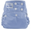happy heinys one size cloth diaper - dark periwinkle