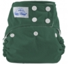 happy heinys one size cloth diaper - forest green