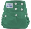 happy heinys one size cloth diaper - kelly green