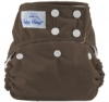 happy heinys one size cloth diaper - mocha