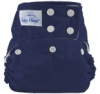 happy heinys one size cloth diaper - navy