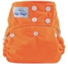 happy heinys one size cloth diaper - orange
