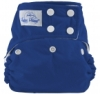 happy heinys one size cloth diaper - royal blue