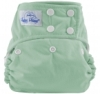 happy heinys one size cloth diaper - sage